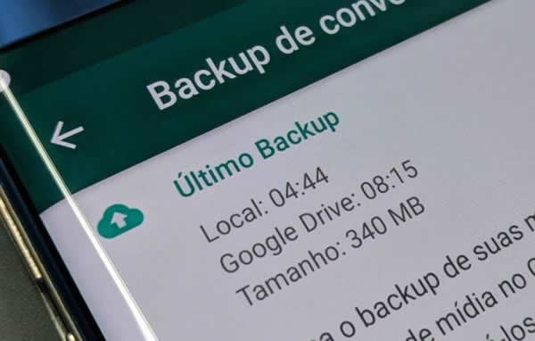 Backup do WhatsApp para Android será ilimitado